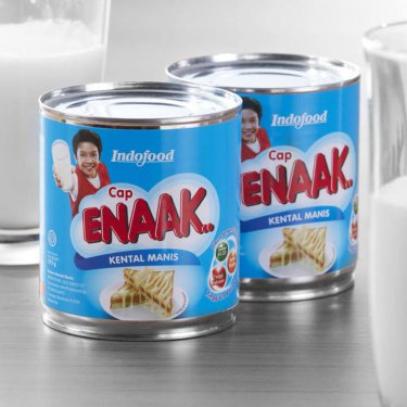 Cap Enak Packaging Design
